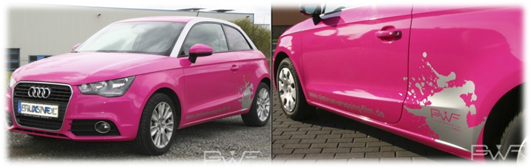 Car Wrapping (Folierung) von der Firma Bruxsafol