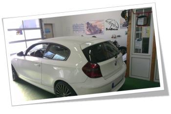 Sunbreak Car Wrapping - Praxisbeispiel BMW vorher Gallery-9