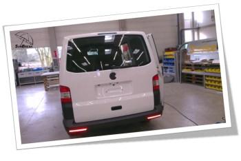 Sunbreak Car Wrapping - Praxisbeispiel Werbung auf VW Transporter vorher Gallery-1