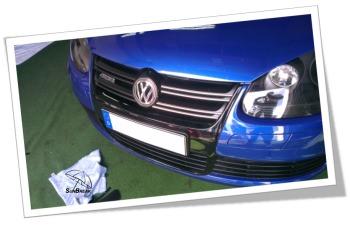 Sunbreak Car Wrapping - Praxisbeispiel VW R32 Gallery-7